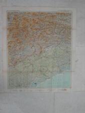 Carte pour Guide Michelin des Champs de Bataille ITALIENS - Vol. 3  PIAVE