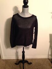 New Vans Womens Maynard Knit Long Sleeve Sweater Shirt Medium