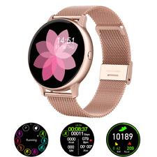 Girls ECG Smart Watch IP68 Waterproof Phone Mate For iphone IOS Android Samsung