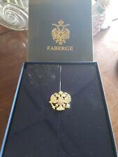 Faberge gold picture frame in original box