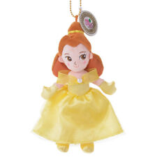 Japan Disney Store Beauty and the Beast Princess Belle Plush Keychain