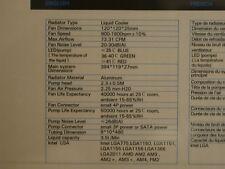 Antec Mercury 360 liquid cooler for PC