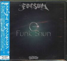 FOESUM-G FUNK SHUN-JAPAN CD F30