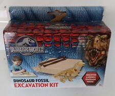 JURASSIC WORLD - Dinosaur Fossil Excavation Kit New Sealed Universal Toy Set