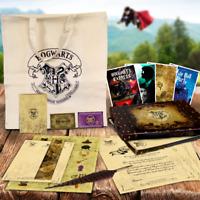 Harry Potter Quill Christmas Gift Set Spells Box Bag Kids Gift