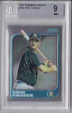 1997 Bowman Chrome Eric Chavez Rookie Graded BGS 9