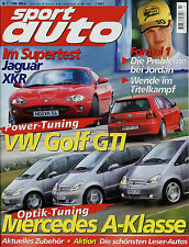 sport auto 7/98 1998 Lotec Boxster Turbo Jaguar XKR McLaren F1 Oettinger Golf