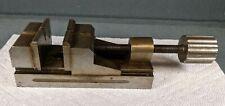 Vintage Small Machinist Jeweler Metalworking Vise Tool Work Top