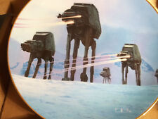 Star Wars Hamilton Plate Collection * Imperial Walkers * In Original Box w/Cert