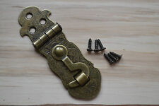ANTIQUE BRONZE LONG BOX CLASP - PROKRAFT PKR ABC4