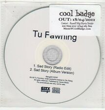 (ET579) Tu Fawning, Sad Story - 2011 DJ CD