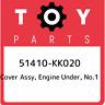 51410-KK020 Toyota Cover assy, engine under, no.1 51410KK020, New Genuine OEM Pa