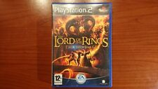 1108 Playstation 2 The Lord of the Rings The Third Age PS2 PAL
