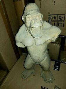 "Large Custom 1996 Resin 20"" KING KONG Movie Figure Statue Godzilla Model Kit !!!"