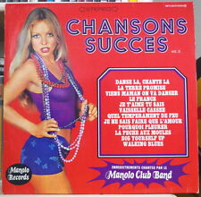 MANOLO CLUB BAND CHANSONS SUCCES VOL.3 SEXY COVER FRENCH LP MANOLO RECORDS