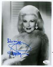 GINGER ROGERS JSA COA HAND SIGNED 8X10 PHOTO AUTHENTICATED AUTOGRAPH