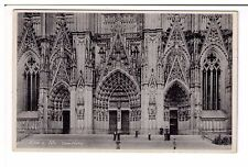 Postcard: Cologne Cathedral Door (Koln a.Rh Dom Portal), Germany