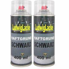 Haftgrund Schwarz 2x 400ml Grundierung Füller Autolack Ludwig Spraydosen Ludwigl