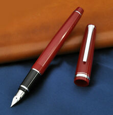 "Pilot Namiki Falcon ""elabo"" Fe-18sr Stylo Plume Flexible 14k Red Fountain Pen"