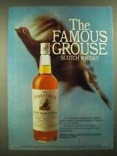 1978 The Famous Grouse Scotch Ad