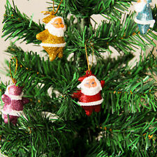 6pcs/set Colorful Small Santa Claus Pendant Christmas Tree Ornament  ZB