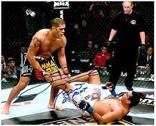 ANTONIO SILVA Signed Autographed UFC MMA 8X10 PIC. C