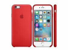 """RED GENUINE ORIGINAL Apple Silicone Case for iPhone 6S 4.7"""" NEW"""
