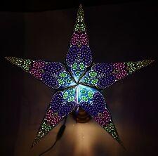 Leuchtstern Adventsstern Weihnachtsstern Papierstern Dekostern 60cm handmade 142