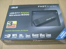 ASUS USB-N13 WiFi Wireless N300 802.11bgn Adapter WLAN 300Mbps NEW