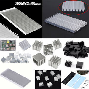 Various Size Aluminum Heatsink Heat Sink Cooling Radiator Power Amplifier Best
