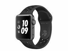 Apple Watch Series 3 Nike+, 42 mm, Aluminium space grau, Sportarmband anthr/blk