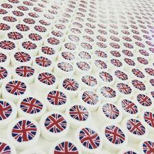 100 Union Jack Rock candy sweets, Favours, gifts,and Parties.