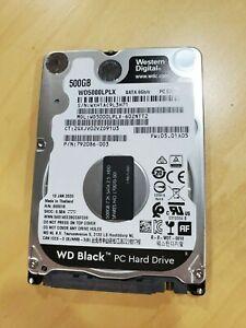 WD5000LPLX Western Digital 500GB 2.5-inch HD [SATA 6Gbps 7200RPM 32MB Cache] NEW