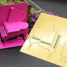 Piano Cutting Dies Stencil DIY Scrapbooking Album Paper Card Embossing Craft