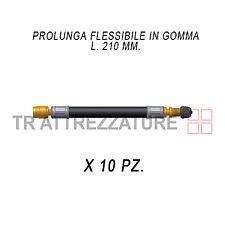 10 Ganci fissaggio doppi 8093 x Prolunghe flessibili valvola autocarro