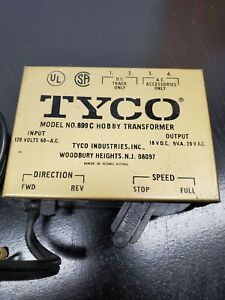 Tyco Model No. 899 C Hobby Transformer - HO Scale Train