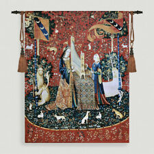 The Lady & Unicorn Ⅱ Medieval Fine Art Tapestry Wall Hanging - SIGHT