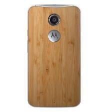 Moto X (2nd Gen.) - 32GB - White - Wood - Factory Unlocked !