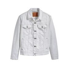 LEVI'S PRIDE WHITE DENIM Trucker Men's, Authentic BRAND NEW (723340386)