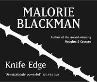 Malorie Blackman - Knife Edge (Read by Sosanya/Hasler/Walker) 5 CD New & Sealed