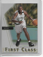 2000-01 SP Authentic Paul Pierce First Class Insert Card
