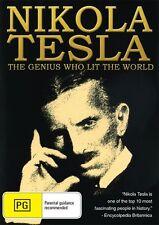 NIKOLA TESLA - THE GENIUS WHO LIT THE  WORLD NEW & SEALED FREE LOCAL POST