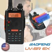 Baofeng UV-5R EX 5W Dual Band VHF/UHF Two Way Radio FM TOT Walkie Talkie