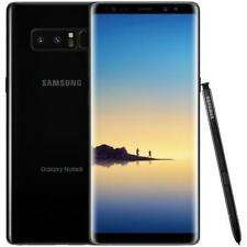 "SAMSUNG GALAXY NOTE 8 BLACK 64GB ROM 6 GB RAM LTE MONO SIM DISPLAY 6.3"" ANDROID"