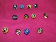 Collectable Marvel Marbles - Bundle of 12 All Different Lot!