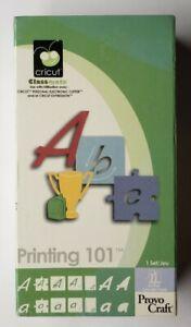 Printing 101 Cricut Cartridge Link Status Unknown
