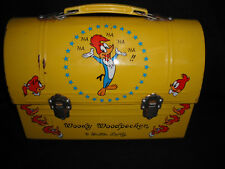 1970 Woody Woodpecker Japanese Dome Lunch Box  * Vintage * VERY RARE YELLOW !!!
