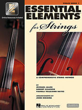Essential Elements For Strings Violin Book 1 W/Online Access Brand New On Sale!