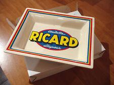 RICARD ANISETTE VIDE POCHE CENDRIER  RAMASSE MONNAIE céramique  BAR BISTROT PUB