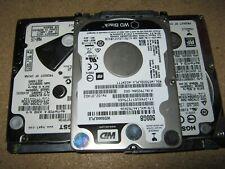 "Job lot of 5 x Various 500GB SATA 2.5"" Hard Drive"